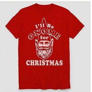 I'll Be Gnome for Christmas tee